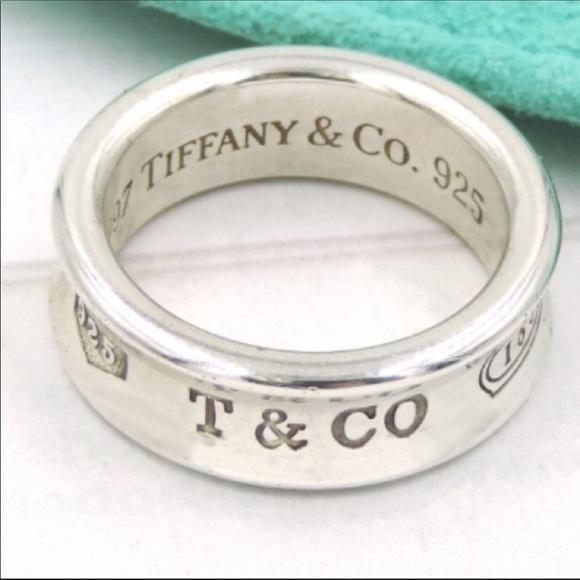 58 off Tiffany Co Jewelry Tiffany Co 1837 Ring Poshmark